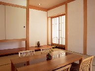 You are able to show a visitor in to a tatami room